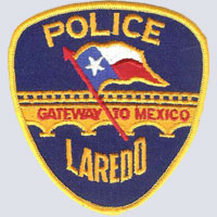 Laredo, TX Police Patch