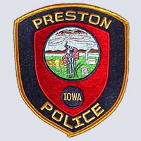 Preston, IA Police Patch