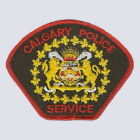 Calgary, AB Police Patch