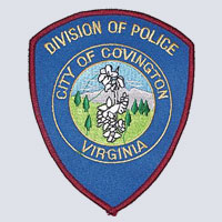 Covington, VA Police Patch