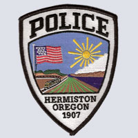Hermiston, OR Police Patch