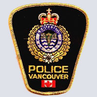 Vancouver, BC Police Patch
