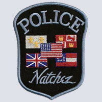 Natchez, MS Police Patch