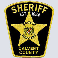 Calvert County, MD Sheriff's Patch