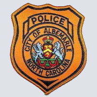 Albemarle, NC Police Patch