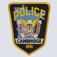 Cambridge, MN Police Patch