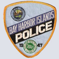 Bay Harbor Islands, FL Police Patch