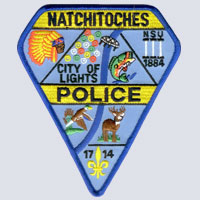 Natchitoches, LA Police Patch