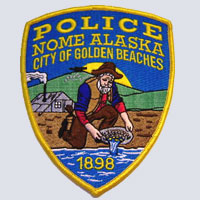 Nome, AK Police Patch