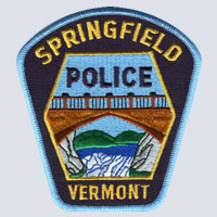 Springfield, VT Police Patch