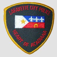Louisiana Police Patch