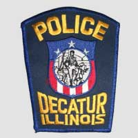 Decatur, IL Police Patch