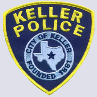 Keller, TX Police Patch
